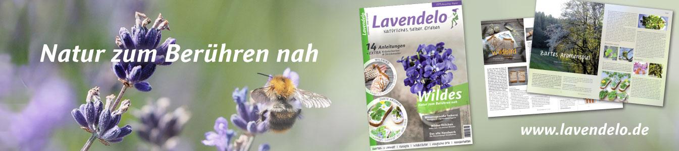 Lavendelo Zeitschrift Cover 14 2020